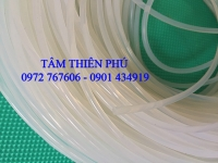 Dây silicone tròn phi 3mm